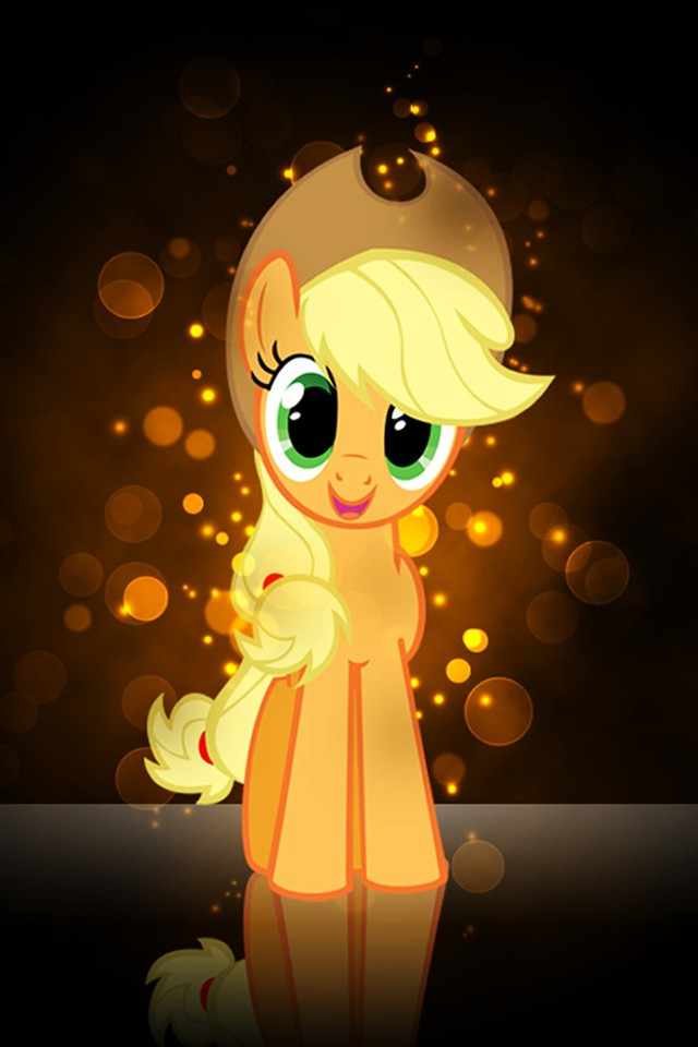 my little pony applejack pony friendship is magic