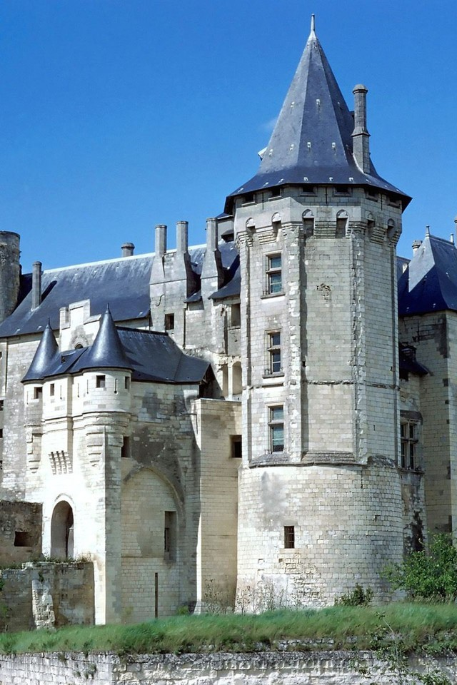 Nature France Europe Saumur Chateau Wallpaper