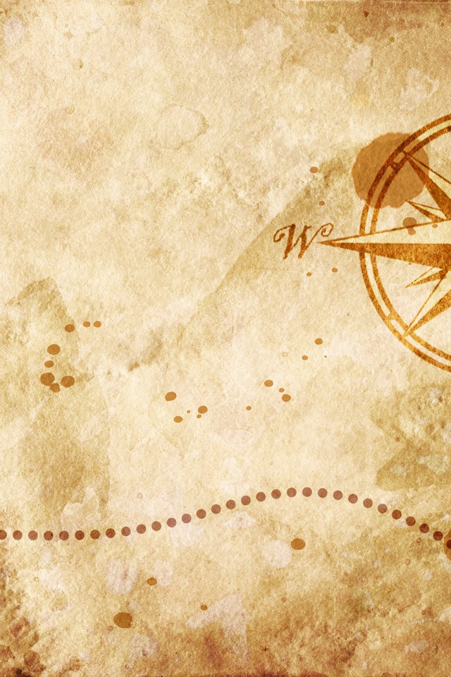 Old Map With A Compass On It Wallpaper Allwallpaper In