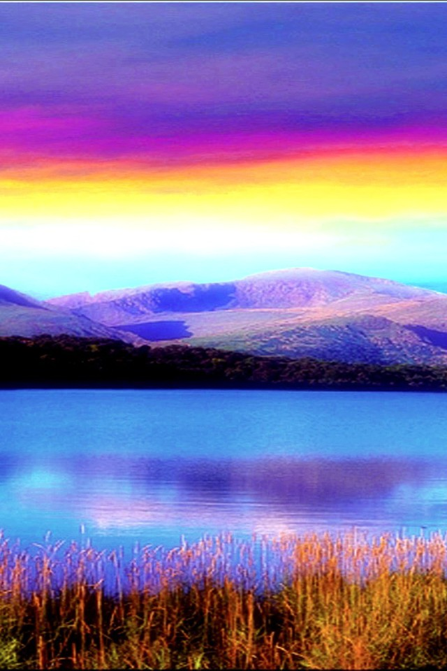 rainbow colored sky wallpaper allwallpaperin 699 pc en