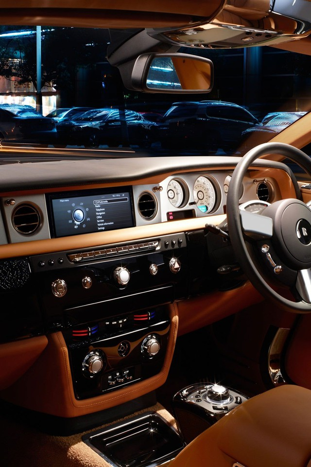 Rolls Royce Phantom Cityscapes Coupe Dashboards Wallpaper