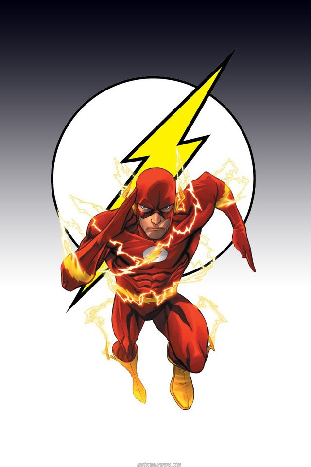 Dc comics superheroes flash comic hero wallpaper - Superhero iphone wallpaper hd ...