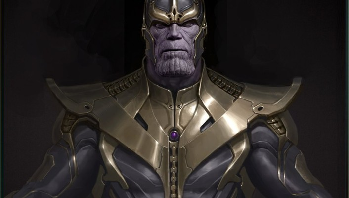 Concept art artwork the avengers thanos wallpaper