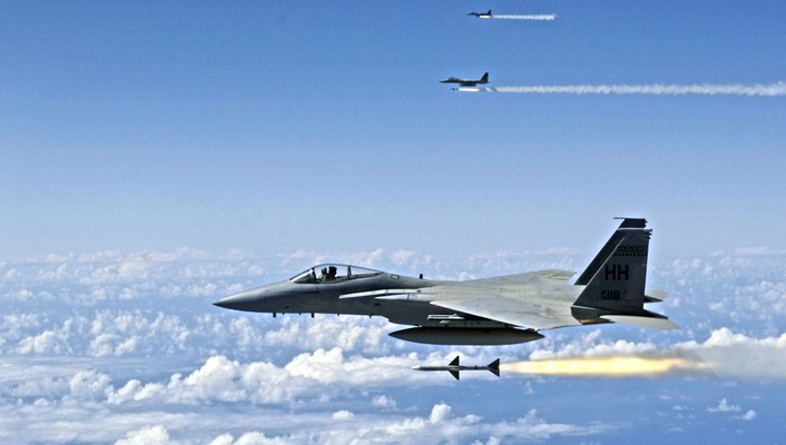 Aircraft f-15 eagle wallpaper