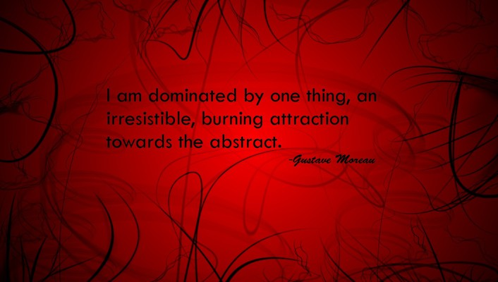 Abstract red quotes background attractions wallpaper