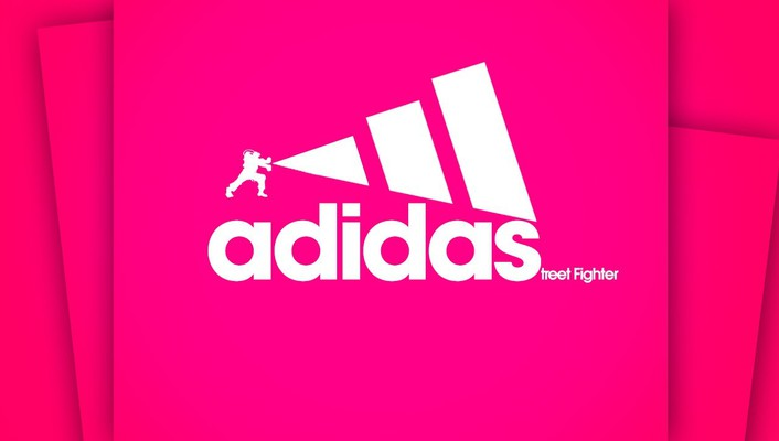 Adidas bosslogic pink background fighters wallpaper