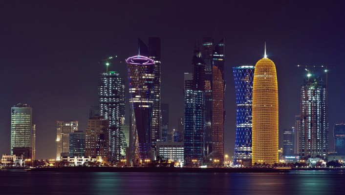 Water cityscapes cities doha city centre wallpaper