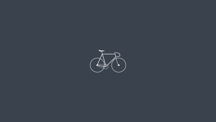 Artwork bicycles minimalistic simple wallpaper