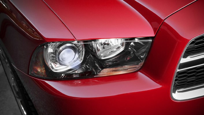 Dodge charger headlights muscle cars wallpaper