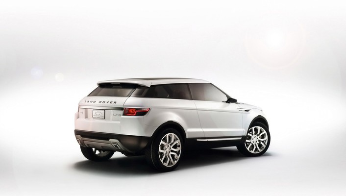 Cars white background evoque wallpaper