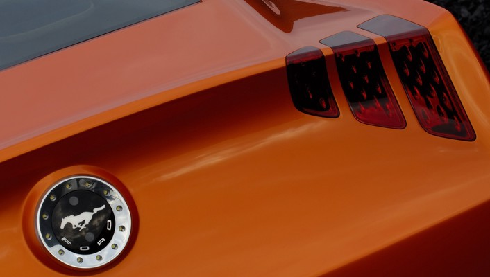 2006 ford mustang giugiaro concept art emblems wallpaper
