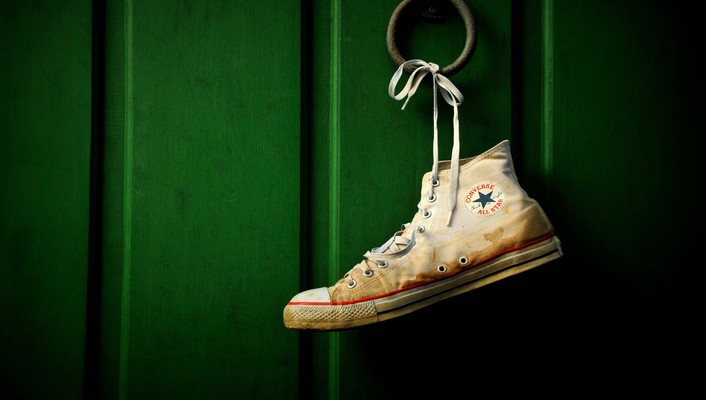 Converse all star green objects shoes wallpaper