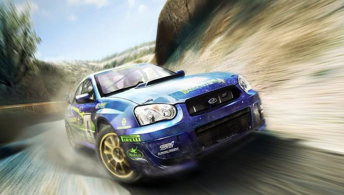 Colin mcrae rally subaru impreza cars wallpaper