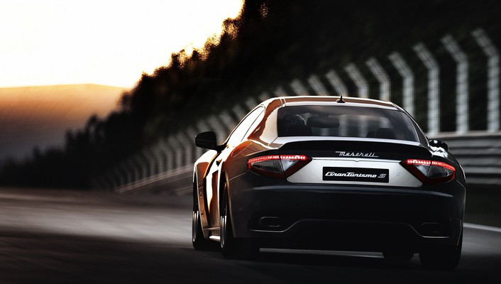 Maserati granturismo cars exotic game supercars wallpaper