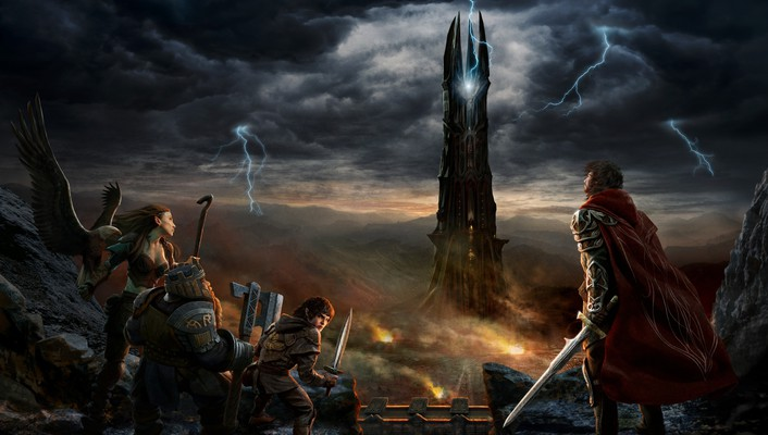 Lord of the rings online rings dwarfs wallpaper