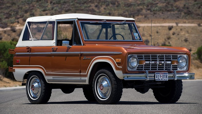 1973 ford bronco wallpaper