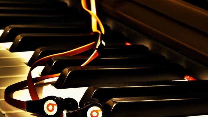 Music piano audio hdr photography beats by dr.dre wallpaper