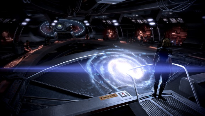 Video games mass effect 2 3 sci-fi action wallpaper