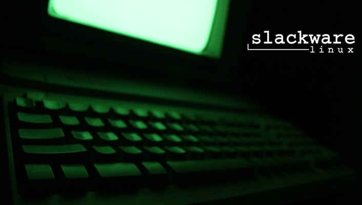Slackware gnu/linux oldie wallpaper