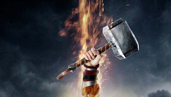 Movies thor mjolnir thor: the dark world wallpaper