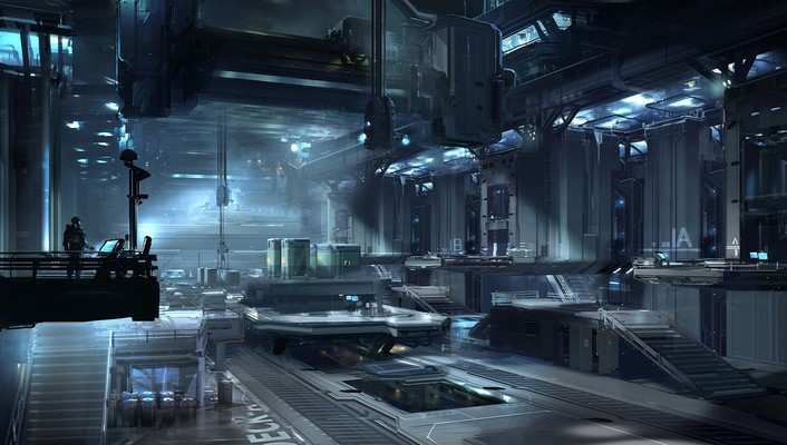 Halo concept art artwork 4 nicolas bouvier wallpaper