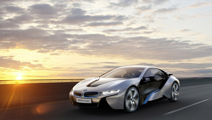 Cars bmw i8 concept i3 wallpaper