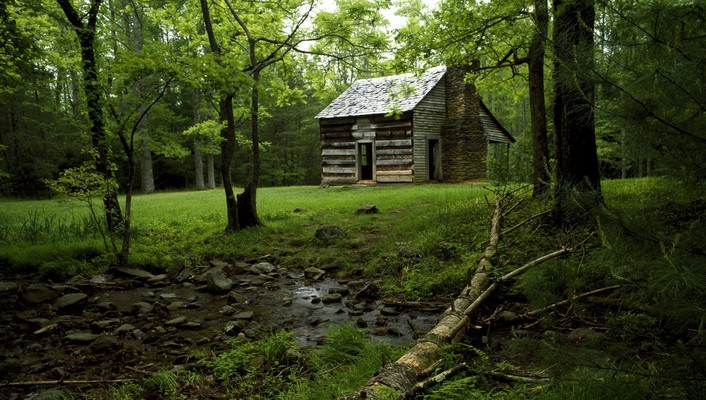 National park tennessee cabin cove mountains wallpaper