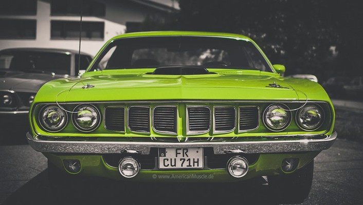 1971 plymouth cuda muscle cars wallpaper