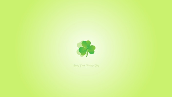 Artwork clover text wallpaper