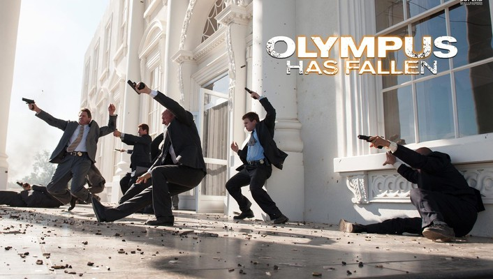 Olympus has fallen movie wallpaper