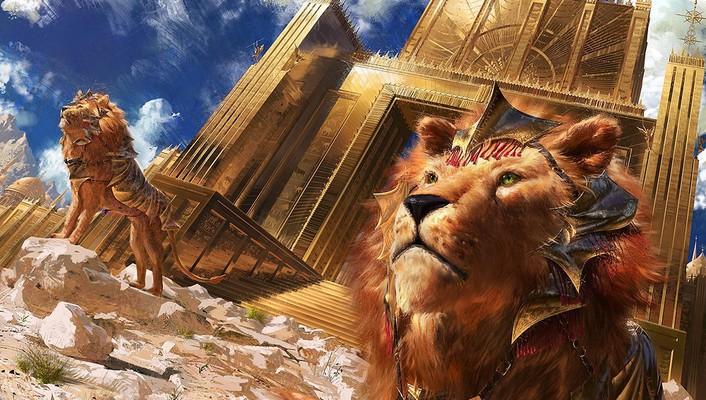 Sun gate lions mtg wallpaper
