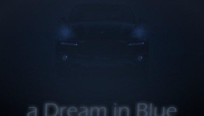 A dream in blue wallpaper