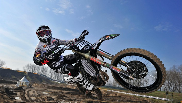 Yamaha dirt bikes motocross wallpaper