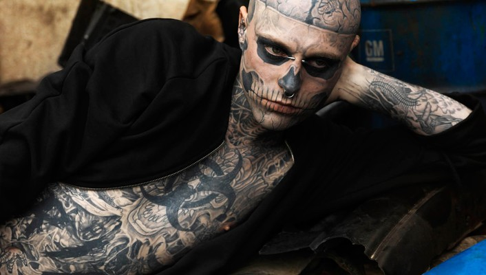 Tattoos zombies men wallpaper