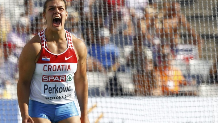 Screaming croatia discus sandra perkovic wallpaper