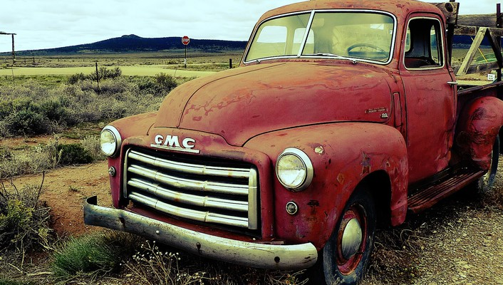 Old cars country gmc classic wallpaper