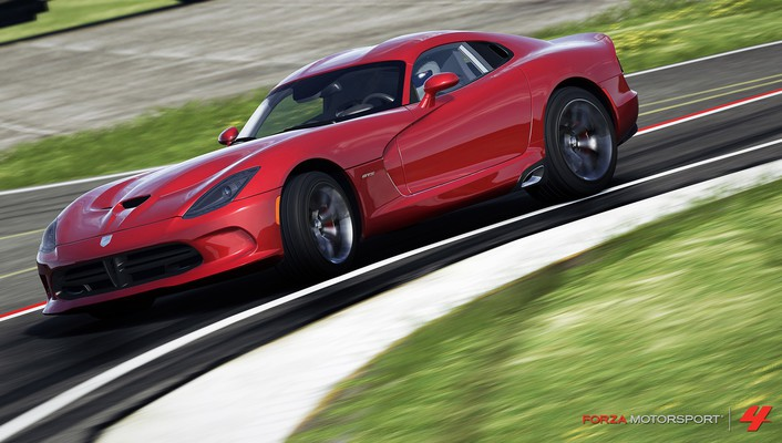 360 dodge viper srt-10 forza motorsport 4 wallpaper