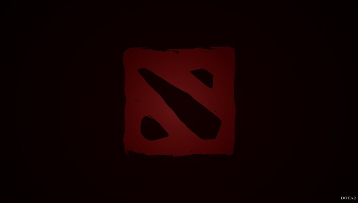 Dota 2 dark red pc games professional wallpaper