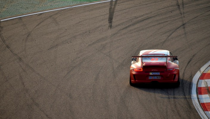 Porsche cars gt3 cup wallpaper