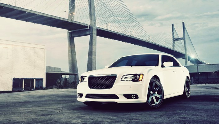 Cars bridges vehicles chrysler 300 automobiles srt8 wallpaper