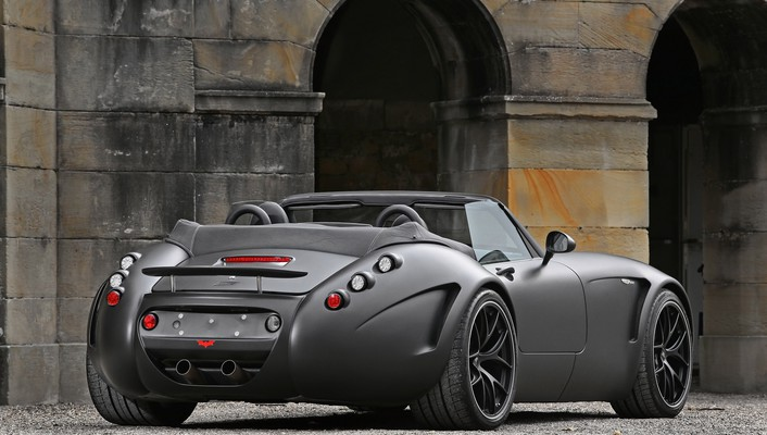 Cars vehicles wiesmann roadster mf5 black bat wallpaper