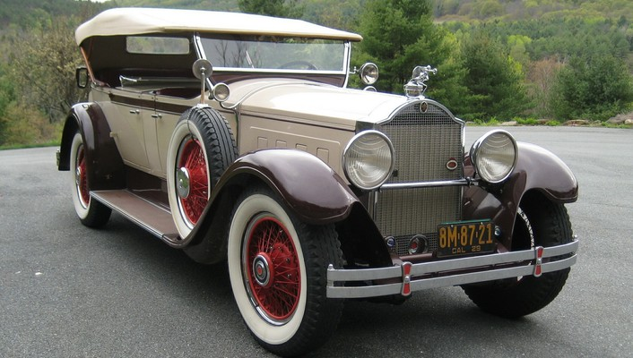 Packard vintage cars wallpaper