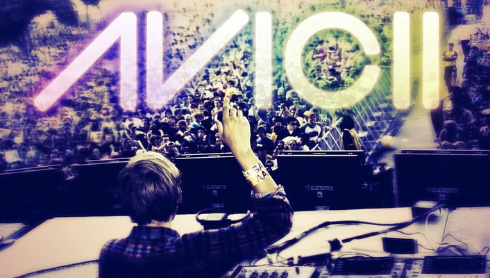 Concert house music dj avicii wallpaper