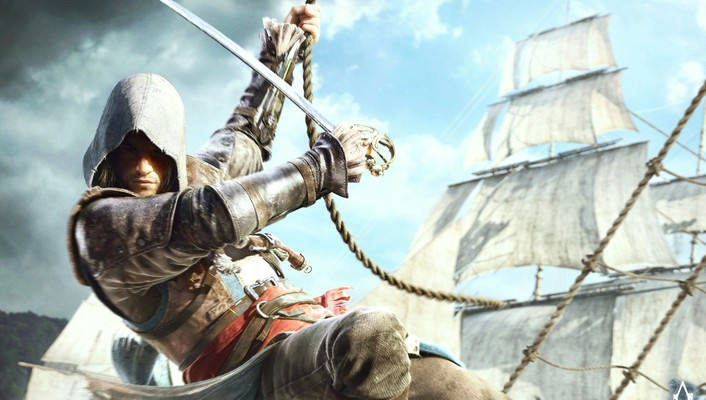Assassins creed 4 art wallpaper