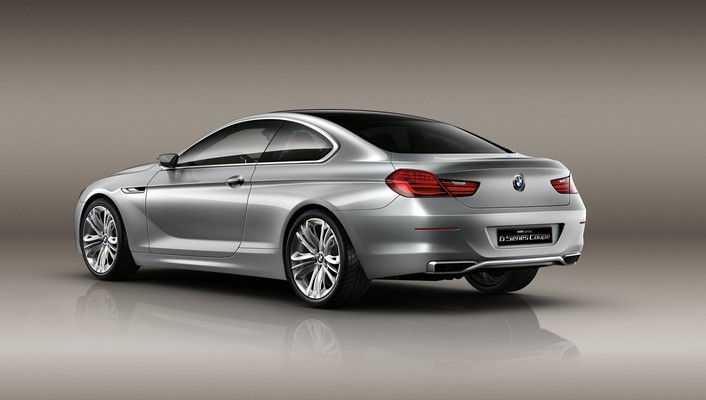 Bmw concept 6 back cars coupe series wallpaper
