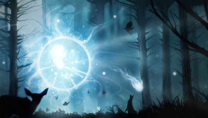 Video games heroes dota 2 wisp wallpaper