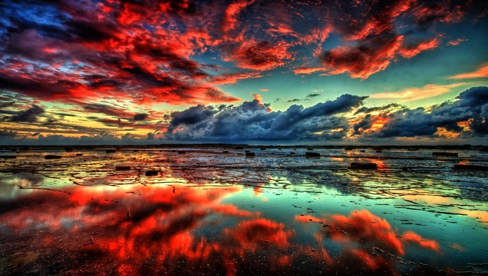 Nature sun fantasy art hdr photography skyscapes wallpaper