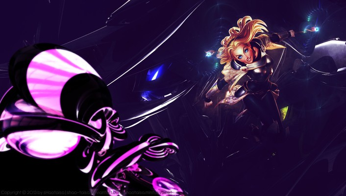 League of legends lux game characters lol wallpaper