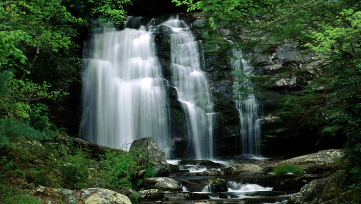 Landscapes falls tennessee waterfalls national park great wallpaper