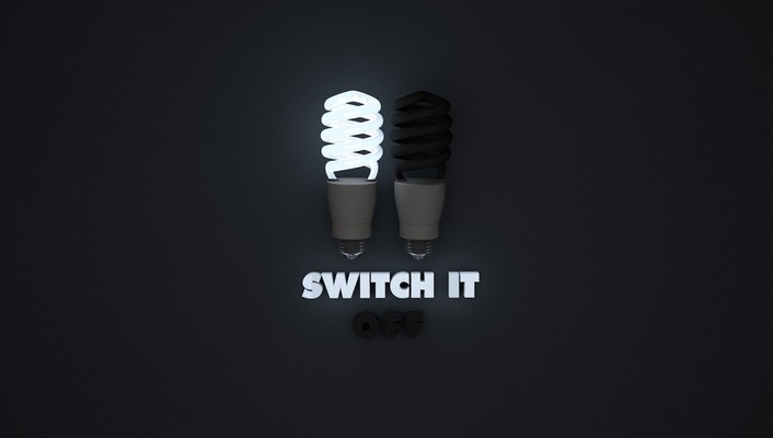 Bulbs simple background wallpaper